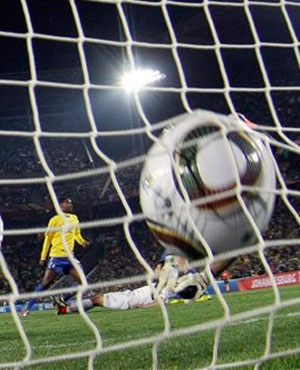 Online criminals are targeting the Soccer World Cup to steal financial information and personal data. (Ivan Sekretarev, AP, file)