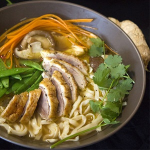 recipes duck asian broth healthy