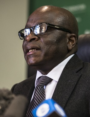 Minister of Mineral Resources Ngoako Ramatlhodi.