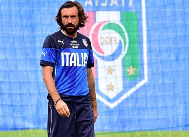 Italy's Andrea Pirlo (Supplied)
