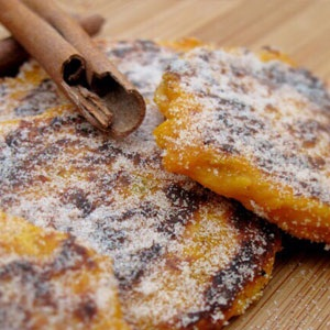 recipes, pumpkin, fritters