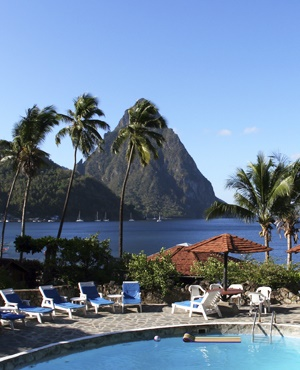 The island of St Lucia is located in the Caribbean Sea. (iStock)