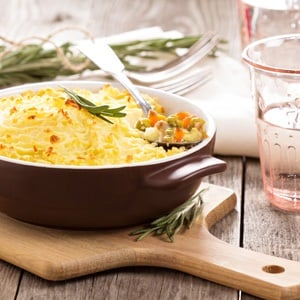 recipes vegetarian cottage pie