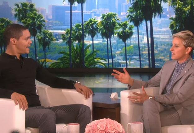 Trevor Noah Chooses Nicki Minaj On Ellen S Who D You Rather Date Game Daily Worthing