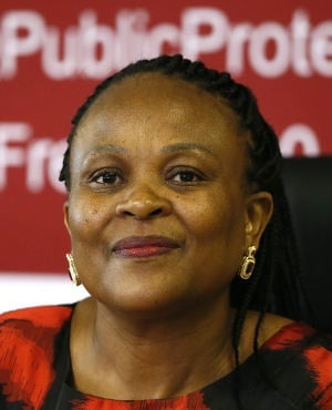 Public Protector Busisiwe Mkhwebane.  (Phill Magakoe/ The Times/Gallo Images/Getty Images)