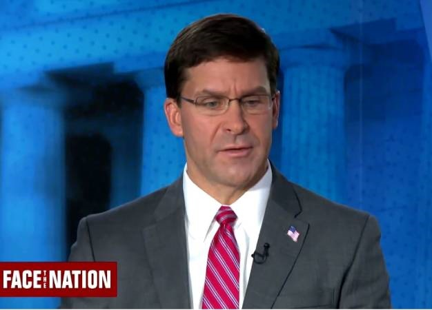 The US is poised to move about 1 000 US troops from northern Syria amid an ongoing Turkish incursion into the region, Defense Secretary Mark Esper has said. (Screen grab, Reuters)