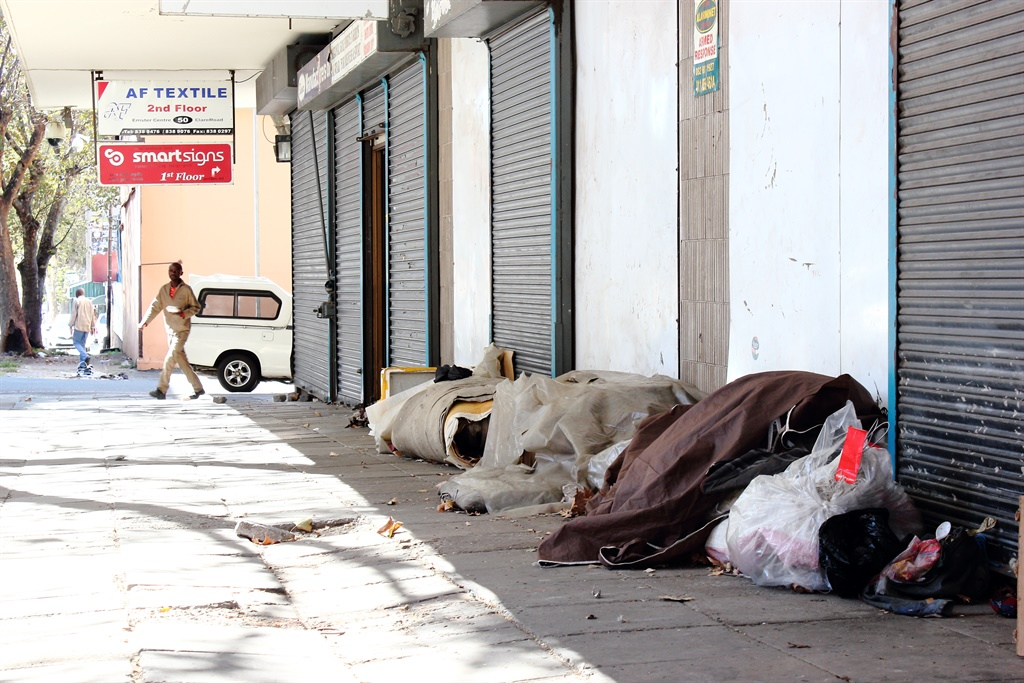 'I don't want to die on the street' - homeless people eager to be taken to shelters during lockdown - News24