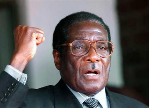 Former Zimbabwean president Robert Mugabe. (AFP)