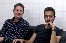 UK band, Editors, headlined Oppikoppi - we got an exclusive sit down