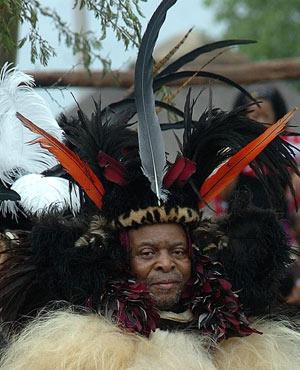 King Goodwill Zwelithini (Siyabonga Masonkutu, The Witness)
