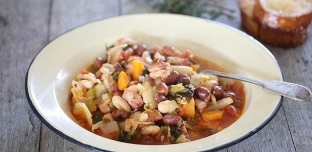 recipes, cassoulet, pork