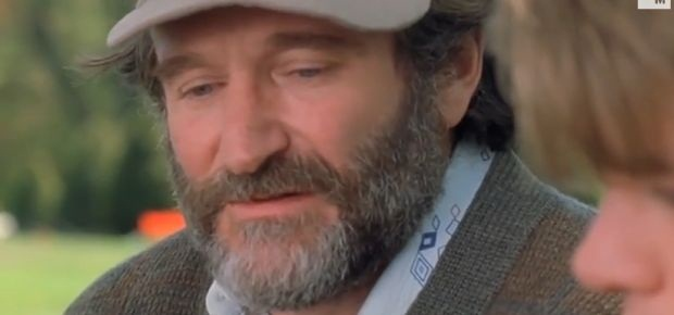 Robin Williams as he appeared in Good Will Hunting. (YouTube)
