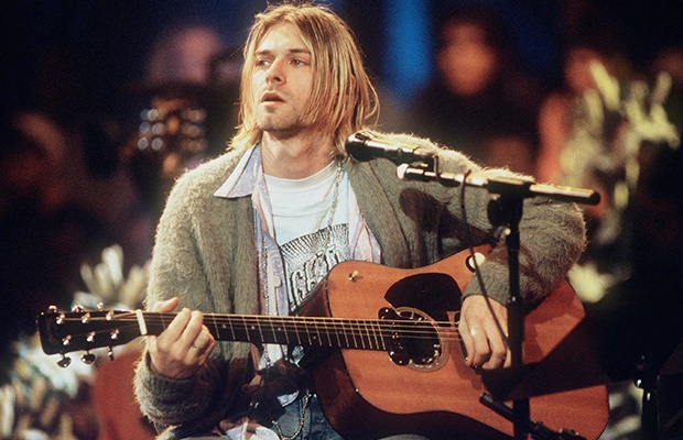 Channel24.co.za | Kurt Cobain's cigarette-burned sweater sells for record-breaking amount