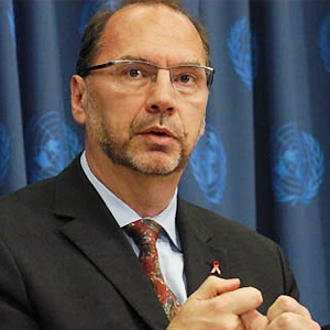 Peter Piot. Image from the UN