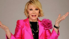 Celebrities tweet support for comedian, Joan Rivers