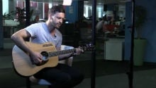 Farryl Purkiss plays 'Ways To Live Forever' unplugged in our studio