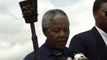 Mandela 'Freedom Torch' to go on auction in US