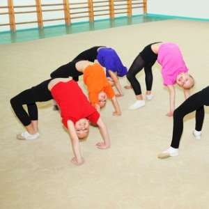 Children with ADHD doing exercise