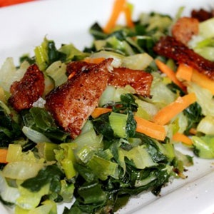 recipes, pork, salad