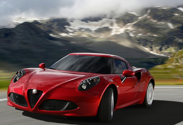 <b>ALFA 4C - TAKING THE BRAND TO NEW HEIGHTS :</b> The Alfa Romeo 4C is a light weight car where everything has been designed to provide total driving pleasure. <i>Image: Alfa Romeo</i>