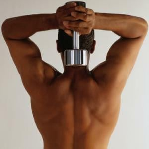 Developing your back muscles is important for upper body strength.