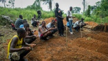 Ebola decrease in Sierra Leone community where outbreak started