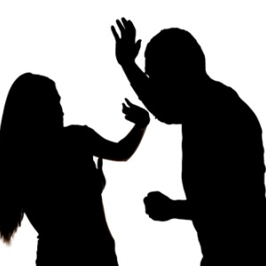 Domestic violence from Shutterstock