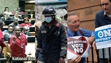 HEADLINES: EFF, Nigeria church collapse & Scottish vote