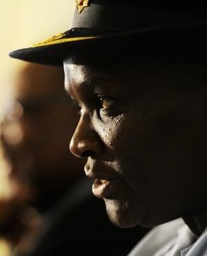 National police commissioner Riah Phiyega. (Werner Beukes, Sapa)