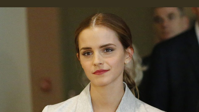 Emma Watson. Photo by Getty Images