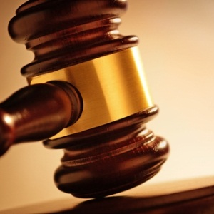 Judge's gavel from Shutterstock