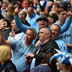 Manchester City fans (Supplied)