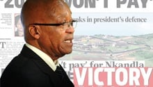 Nkandla unrest dominates newspaper front pages