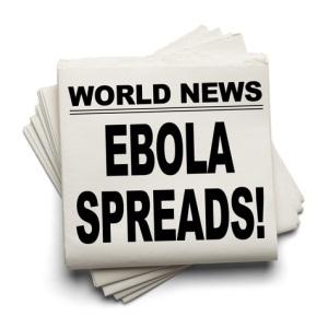 Ebola spreads from Shutterstock