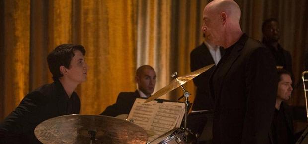 Miles Teller and J.K. Simmons in Whiplash (Facebook)