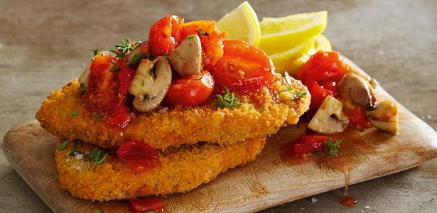 recipes, vegetarian, schnitzel