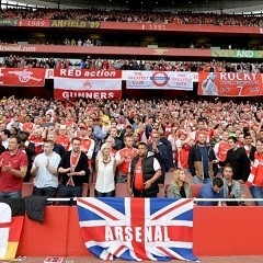 Arsenal fans (Supplied)
