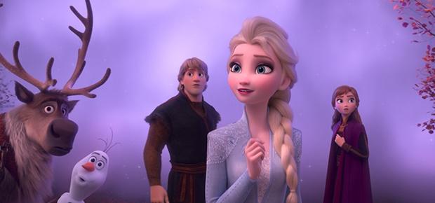 A scene in 'Frozen II.'