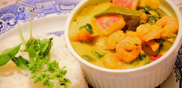 recipes, seafood, curry