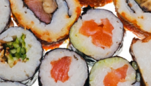 Watch how to make these delicious maki rolls