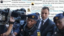 Social media users express shock at Pistorius sentence