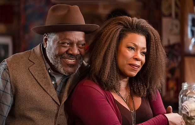 Frankie Faison and Lorraine Toussaint in 'The Vill