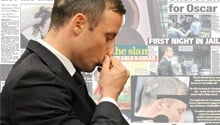 Newspapers focus on Pistorius the prisoner