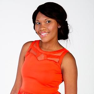 Julia Shabalala after beating breast cancer
