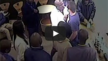 Watch Malema's alleged restaurant assault