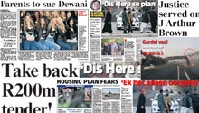 Catch up on today's newspaper front pages here