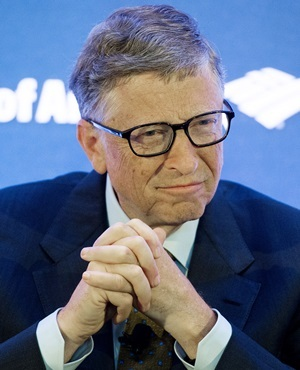 Microsoft founder Bill Gates. (Jim Watson, AFP)