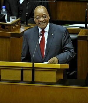 President Jacob Zuma. (Lerato Maduna, City Press)