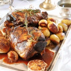Slow-roasted Karoo lamb