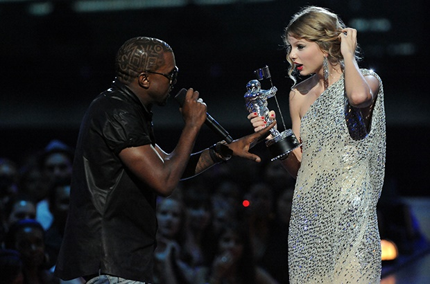 Kanye West and Taylor Swift (Photo: Getty Images)